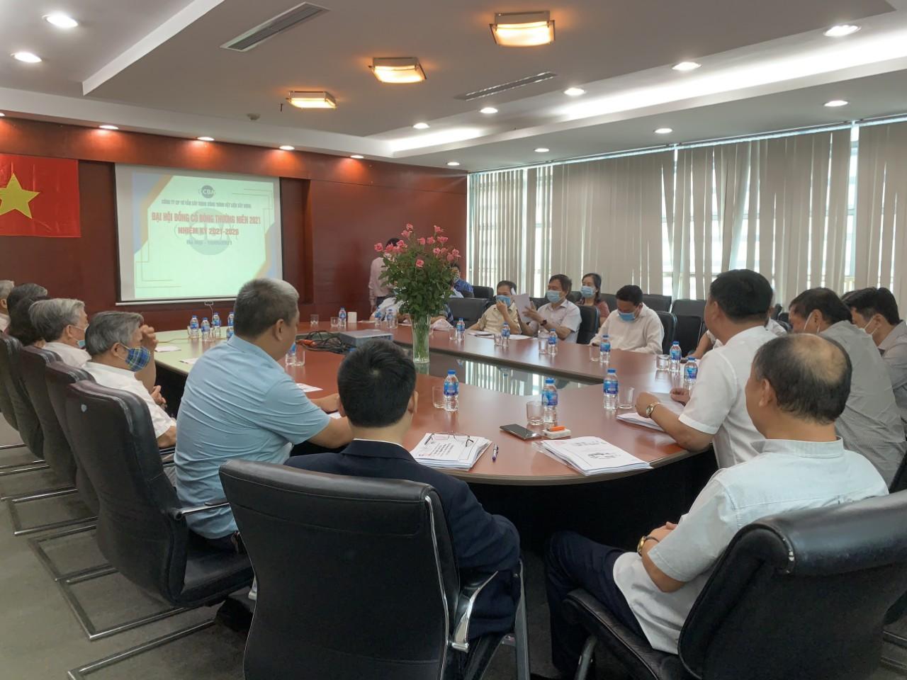 CCBM tổ chức Đại hội đồng cổ đông thường niên năm 2021 và giai đoạn 2021 - 2026